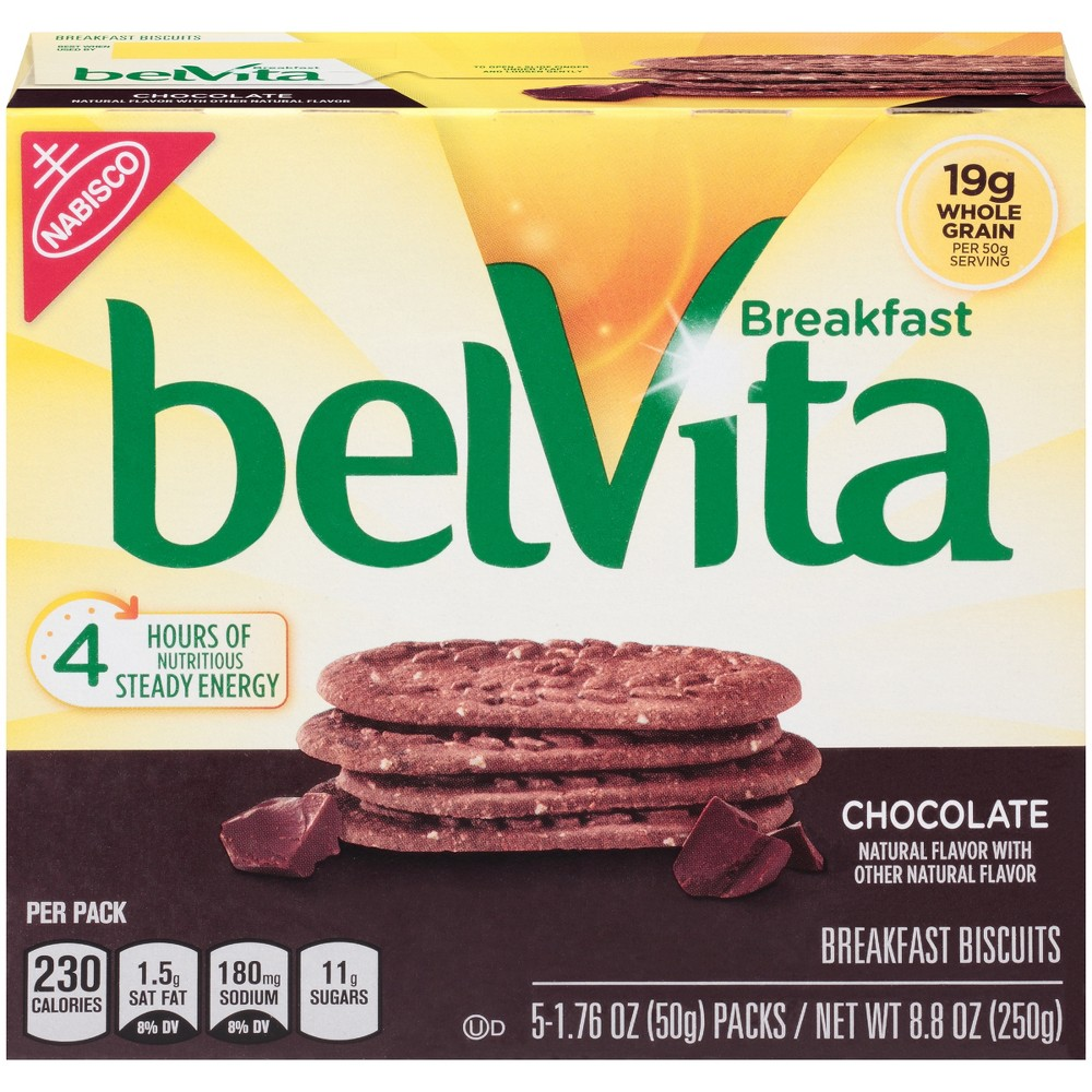 Belvita Chocolate Breakfast Biscuits - 8.8oz