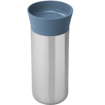 BergHOFF Leo 11.2oz 18/10 Stainless Steel Thermal Mug, Blue