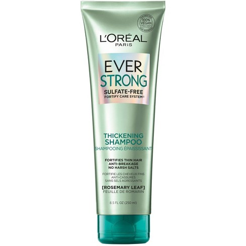 L'Oreal Paris Ever Strong Sulfate-Free Thickening Shampoo - 8.5 fl oz - image 1 of 4