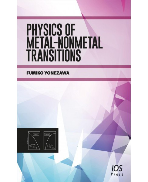 Physics of Metal-nonmetal Transitions (Hardcover) (F. Yonezawa) - image 1 of 1