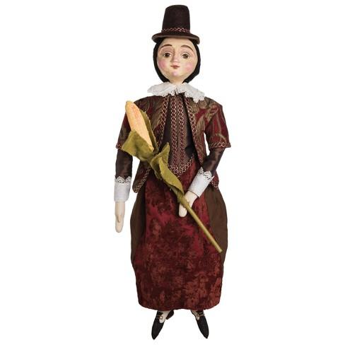Gallerie II Pocahontas Art Doll Halloween Fall Harvest Art Doll Decor Decoration - image 1 of 1
