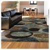 Bubbly Blue Rug - Orian - image 4 of 4