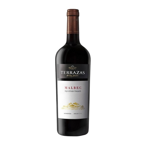 Terrazas De Los Andes Reserva Malbec Red Wine 750ml Bottle