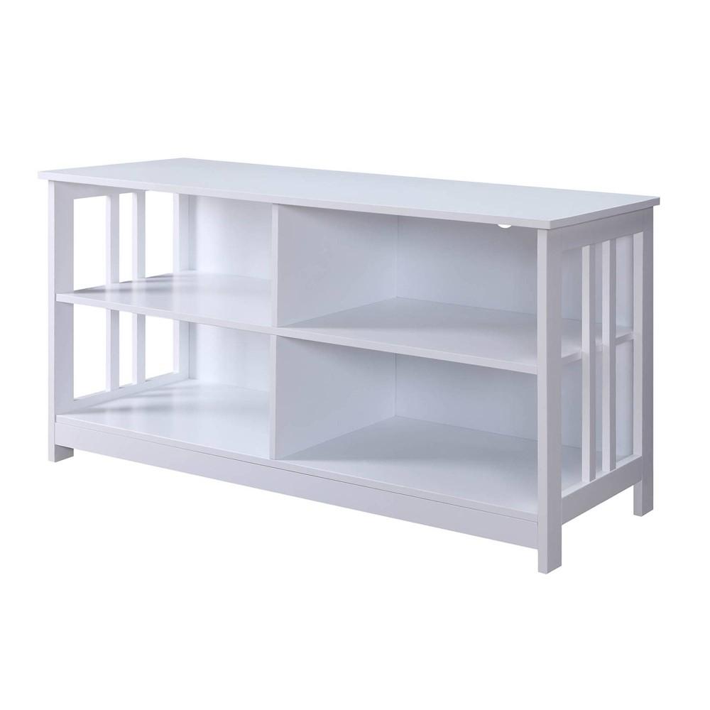 Mission TV Stand White - Johar Furniture Mission TV Stand White - Johar Furniture