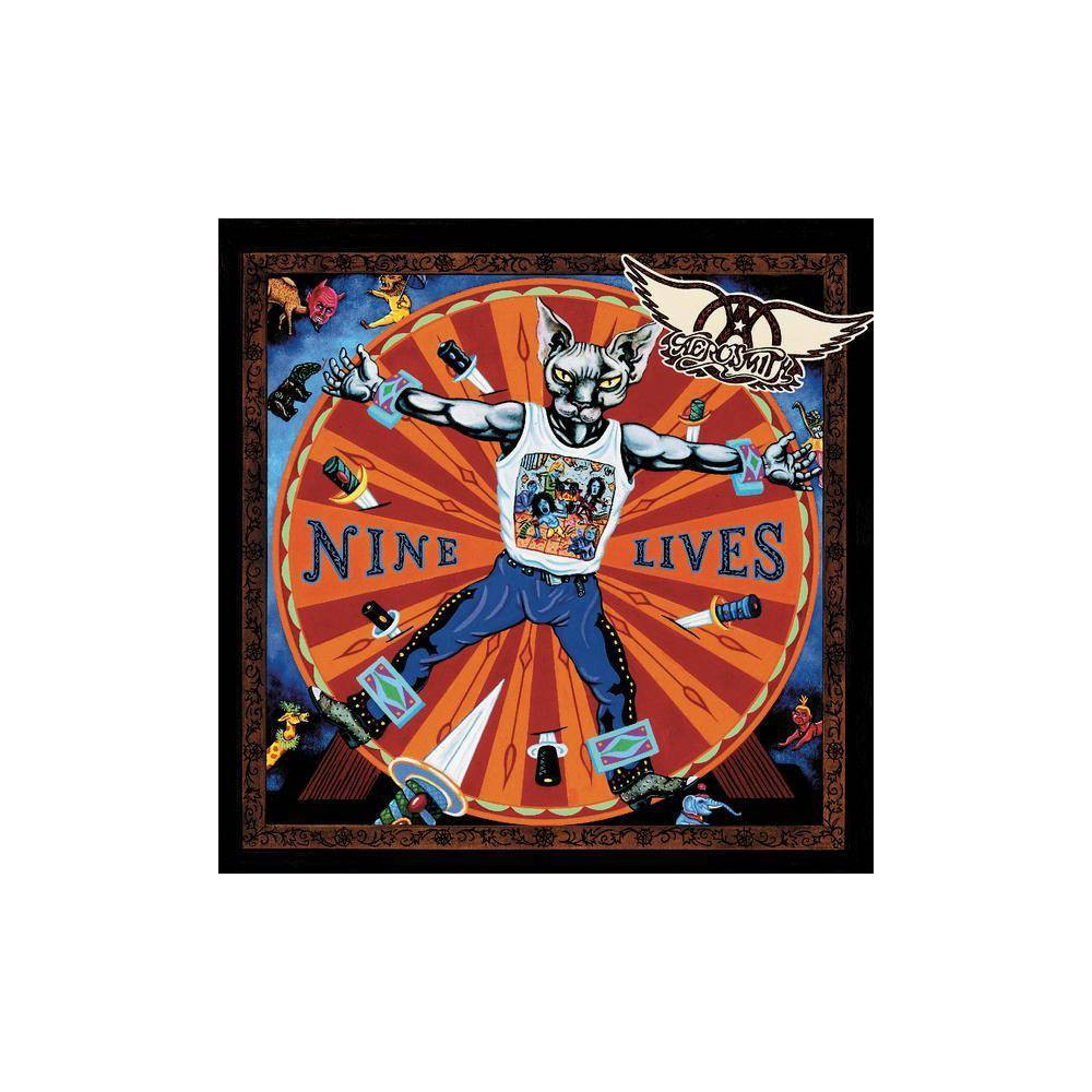 Aerosmith Nine Lives Explicit Lyrics Cd