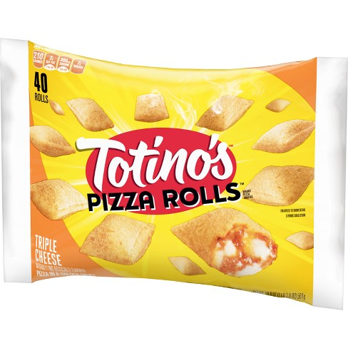 Totino's Triple Frozen Cheese Pizza Rolls - 40ct/19.8oz - image 1 of 3
