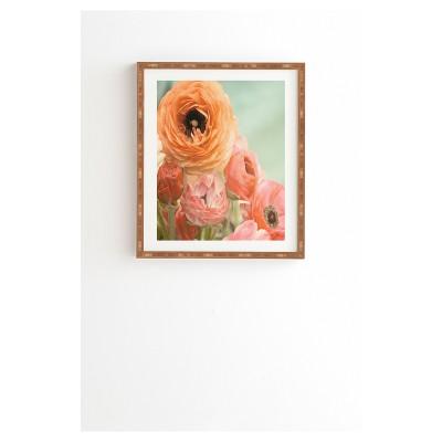 Bree Madden Spring Ranunculus Framed Wall Art By Deny Designs Target