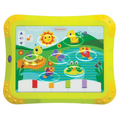 Infantino Topsy Turvy Lights & Sounds Musical Touch Pad