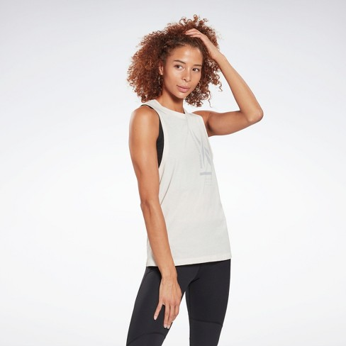 Reebok Graphic Tank Top Womens Athletic Tank Tops - image 1 of 4