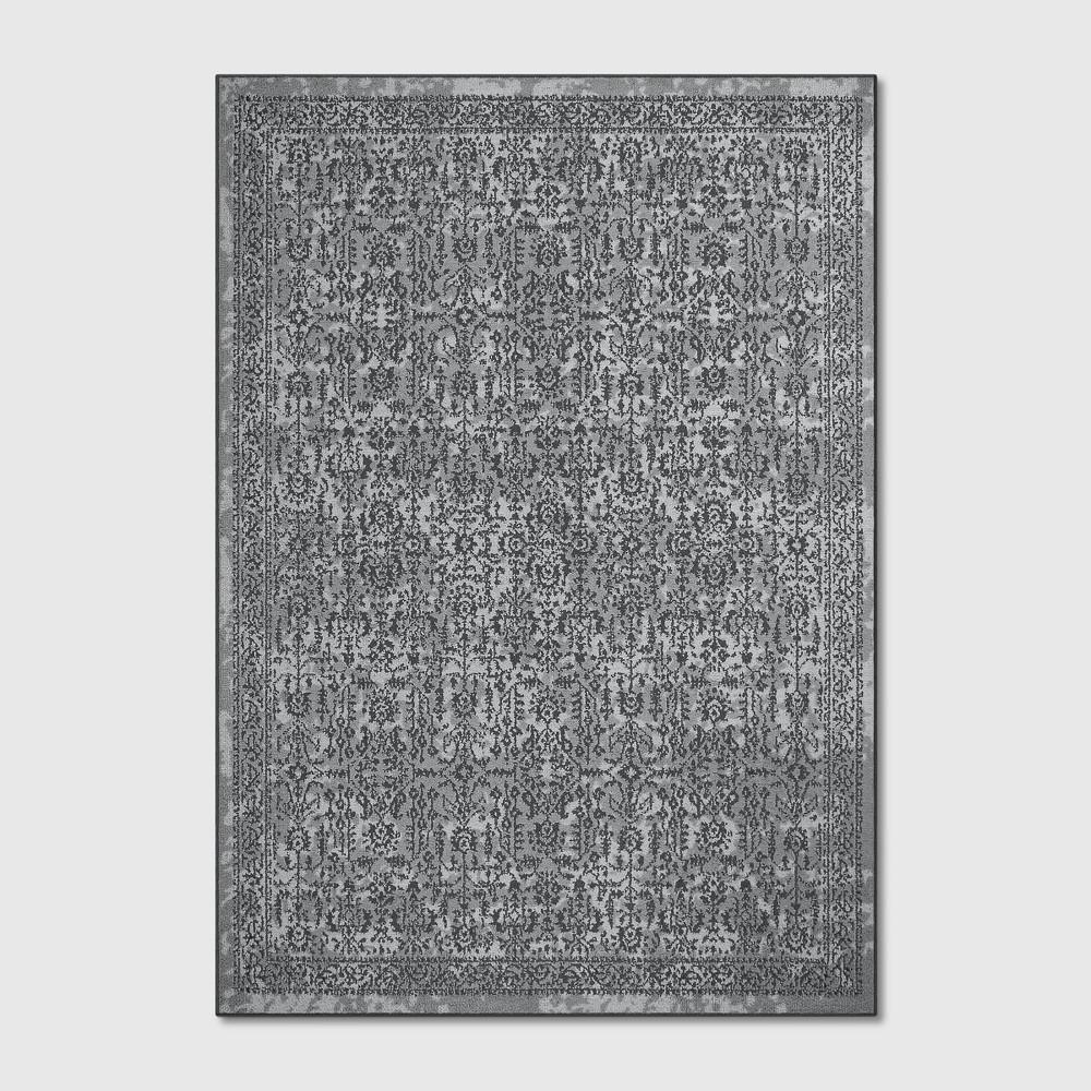 7'X10' Splatter Tufted Area Rugs Gray - Threshold