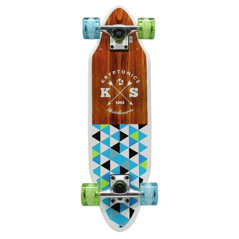 "Kryptonics 26"" Cutaway Cruiser - Green/Blue - image 1 of 2"