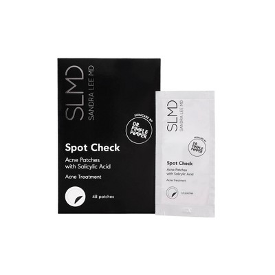 SLMD Skincare Spot Check Acne Patches with Salicylic Acid - 48ct