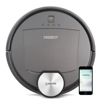 Ecovacs DEEBOT R95 Multi-Surface Robotic Vacuum Cleaner with Wet Mop, Amazon Alexa, and Voice Notification