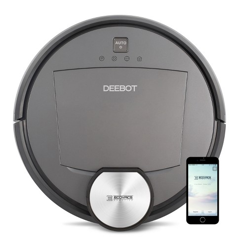 Ecovacs DEEBOT R95 Multi-Surface Robotic Vacuum Cleaner with Wet Mop, Amazon Alexa, and Voice Notification - image 1 of 5