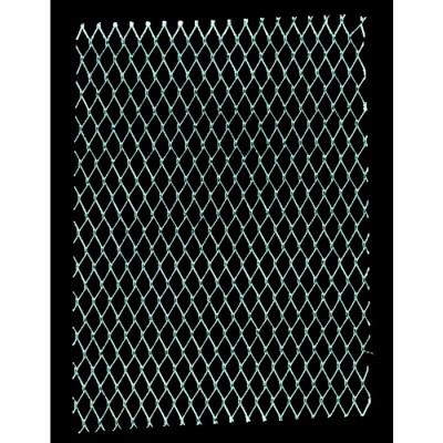 AMACO Wireform Aluminum/Copper Diamond Expandable Metal Mesh, 1/4 in Dia X 10 ft L Roll