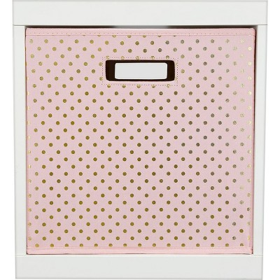 Polka Dots KD Storage Bin Pink - Pillowfort™