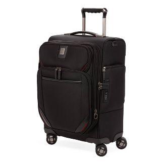 "SWISSGEAR Premium 20"" Carry On Suitcase - Black"