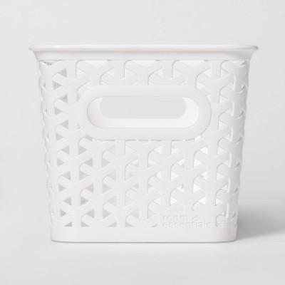 Y-Weave 1/2 Medium Rectangle Storage Bin White - Room Essentials™