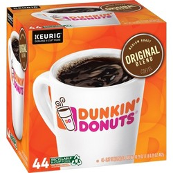 Dunkin' Donuts Original Bold Medium Roast Keurig K-Cup - 44ct