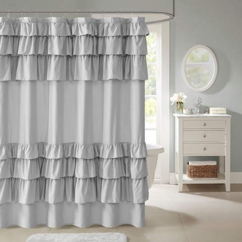 Abby Ruffled Shower Curtain