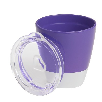 Munchkin Splash Toddler Cup with Training Lid - Purple - 7oz