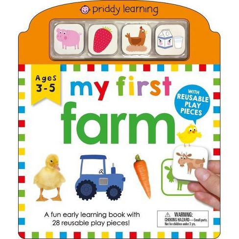 My First Play and Learn: Farm - by  Roger Priddy (Board_book) - image 1 of 1