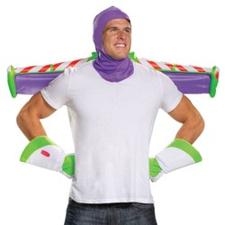 Adult Toy Story Buzz Lightyear Halloween Costume Accessory Kit