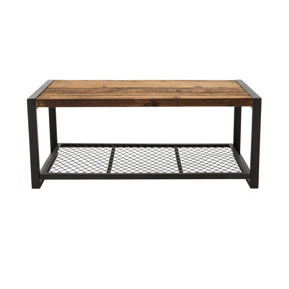 "Image of ""Soho 44"""" Coffee Table Reclaimed Brown - Crawford & Burke"""