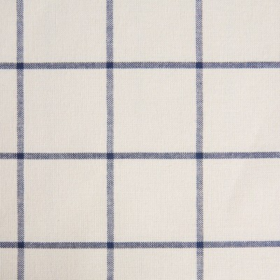 """70"""" Cotton Round Window Pane Tablecloth Blue - Town & Country Living"""