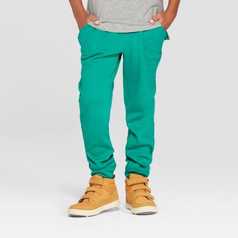 7dc4b5b1860 Boys  Jogger Pants - Cat   Jack™ Green   Target