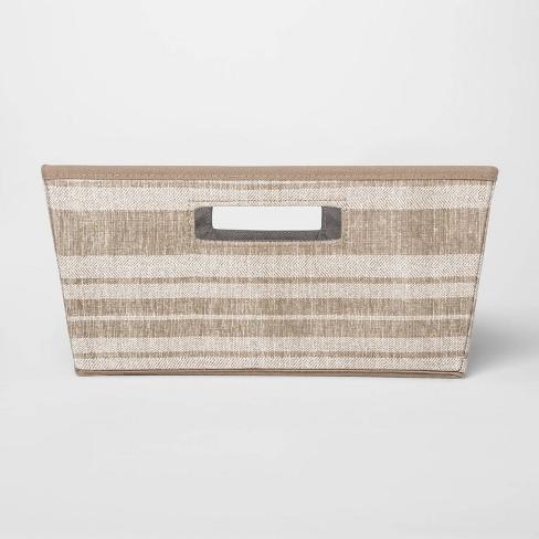 Fabric Half Bin Stripe - Threshold™ - image 1 of 3
