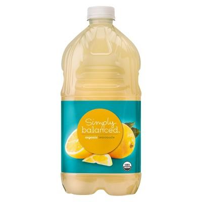Organic Lemonade - 64 fl oz Bottle - Simply Balanced™
