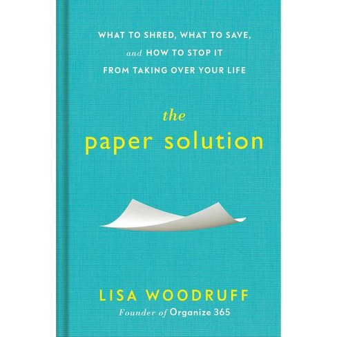 The Paper Solution - by  Lisa Woodruff (Hardcover) - image 1 of 1