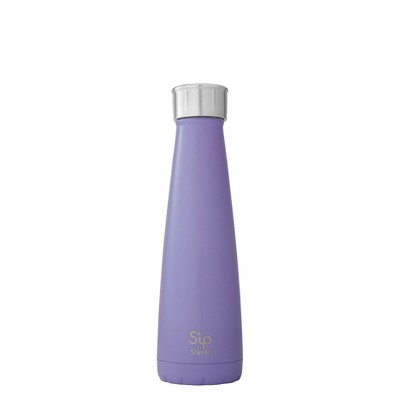 S'ip by S'well Vacuum Insulated Stainless Steel Water Bottle 15oz - Purple Pop