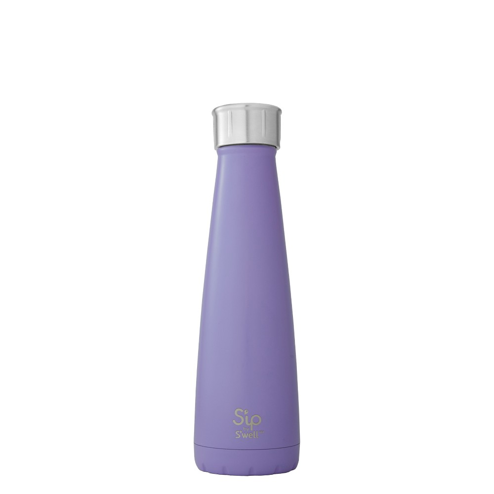 Image of S'ip by S'well Vacuum Insulated Stainless Steel Water Bottle 15oz - Purple Pop