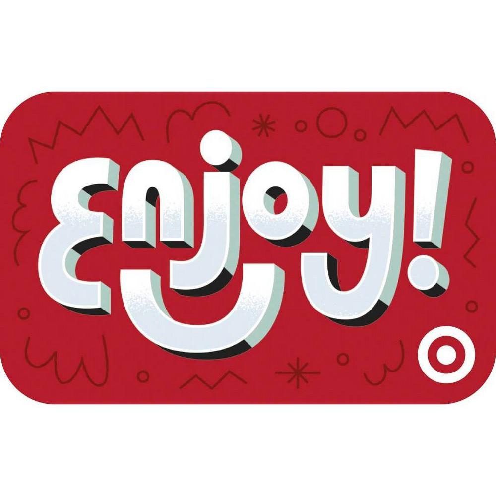 Enjoy Smile Target Giftcard 100