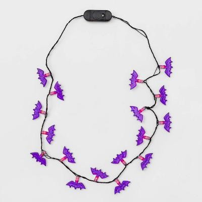 Kids' Bat Halloween Light Up Necklace - Hyde & EEK! Boutique™