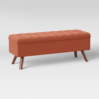 Arthur Tufted Storage Bench Spice - Project 62™