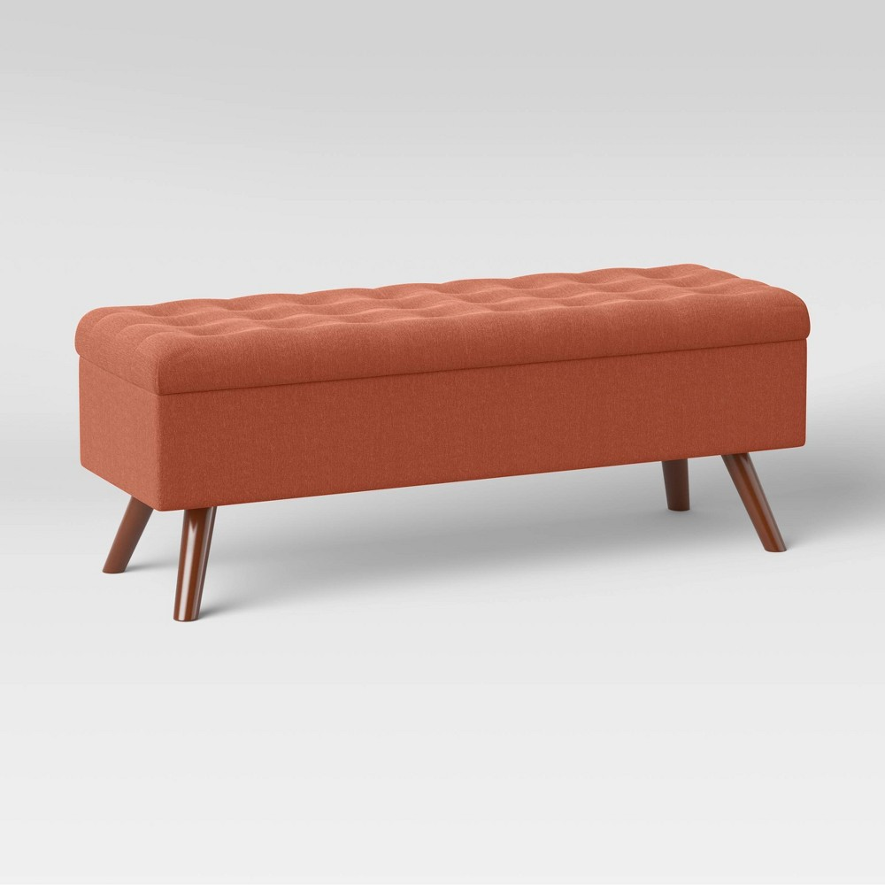 Arthur Tufted Storage Bench Spice Project 62 8482