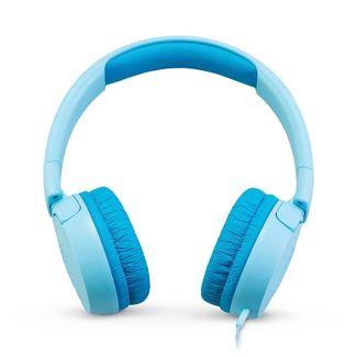 JBL Junior Kids On-Ear Wired Headphones - Blue
