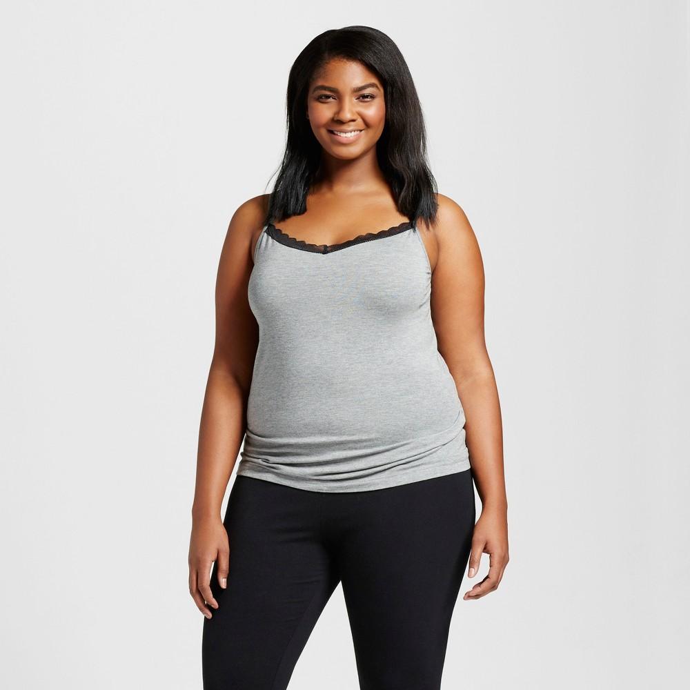 Women S Plus Size Sleep Camisoles Gilligan O Malley 8482 Medium Heather Gray 3x