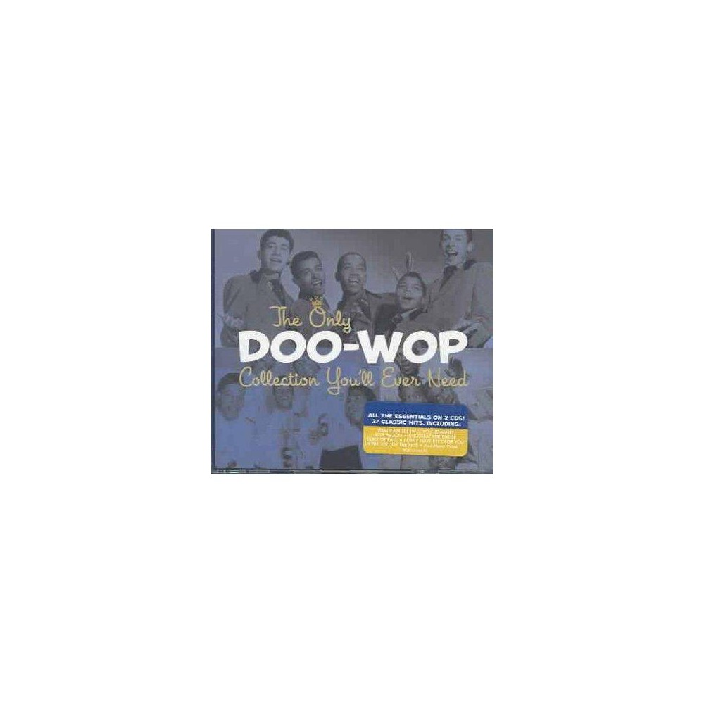 Various Artists The Only Doo Wop Collection You Ll Ever Need 2 Cd