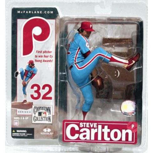 McFarlane Toys MLB Philadelphia Phillies Cooperstown Collection Series 4 Steve Carlton Action Figure [Blue Uniform] - image 1 of 2