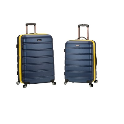 Rockland Melbourne 2pc ABS Spinner Luggage Set