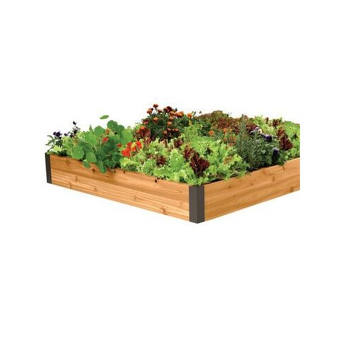 Raised Garden Bed 4' x 6' - Gardener's Supply Company - image 1 of 2