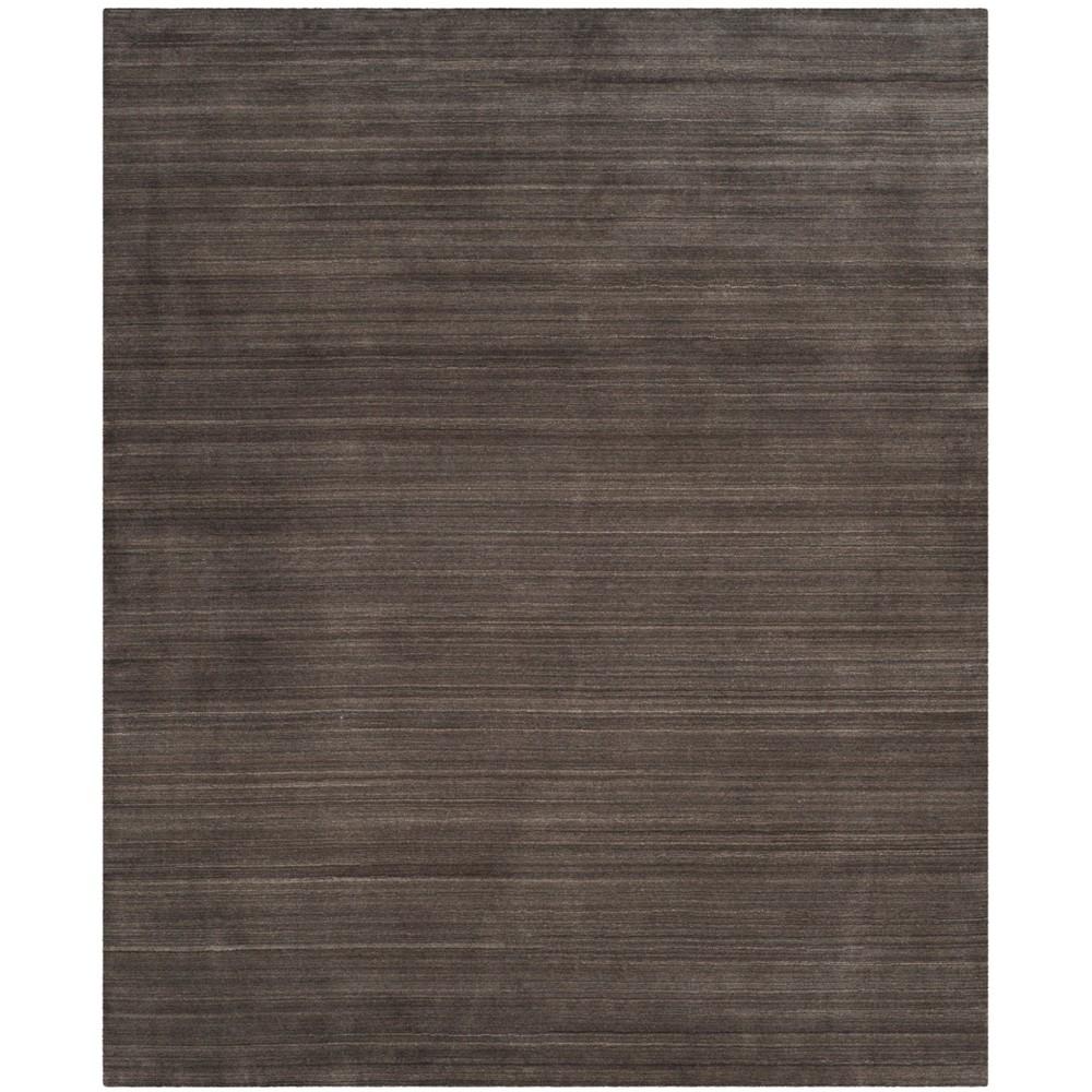 8'X10' Spacedye Design Loomed Area Rug Charcoal (Grey) - Safavieh