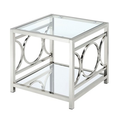ioHomes End Table Platinum