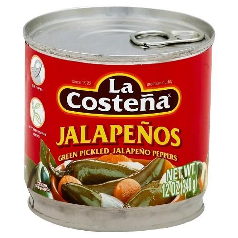 La Costena Jalapeno Peppers 12oz - image 1 of 3