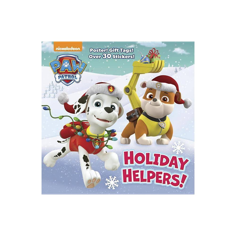 Paw Patrol Holiday Helpers Paperback