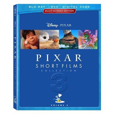 Pixar Short Films Collection, Vol. 3 (Blu-ray + DVD + Digital)
